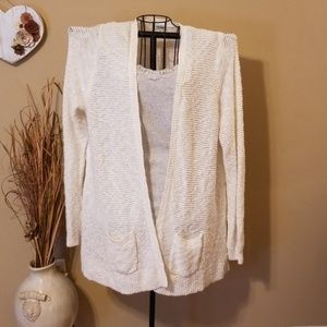 Old Navy open front pocketed cardigan